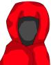 全身ローブの術師-性別不明赤色