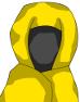 全身ローブの術師-性別不明黄色