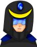黒魔術師男性-黒魔導士カラー