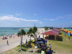 20120715ビーチとBBQハウス