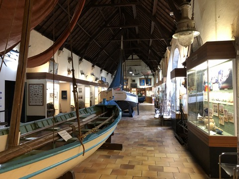 Concarneau_博物館展示風景1