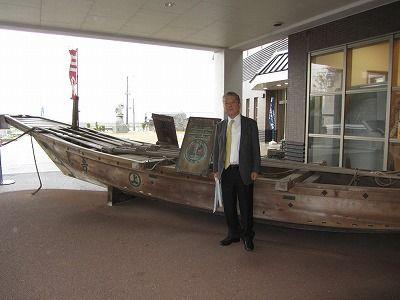 屋外展示 小早船