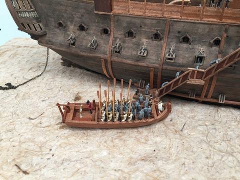 監獄船ジオラマ