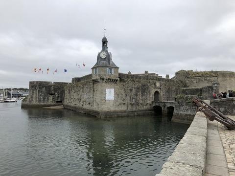 Concarneau_博物館入口風景