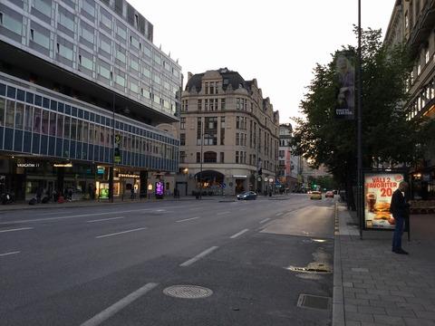 ストックホルム駅前通り