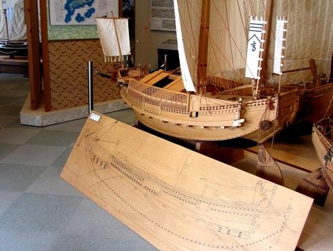 奉納和船と板図z