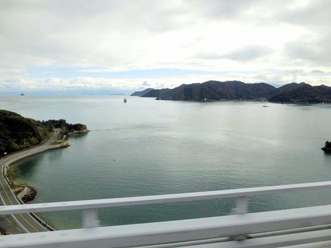 因島大橋より瀬戸内を望むxx