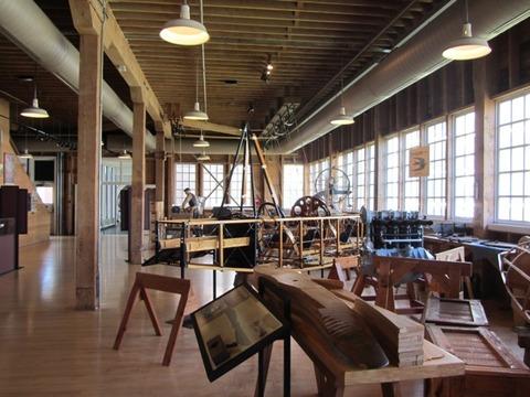ボーイング初期工場内レプリカ