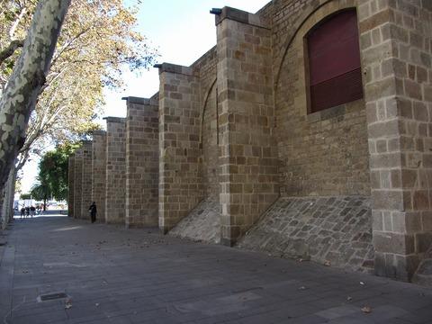 海事博物館外壁