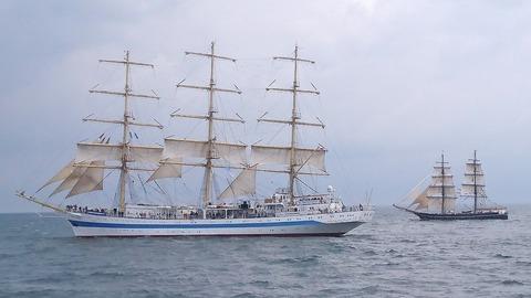 ロシアの大型帆船 STS Mirhd