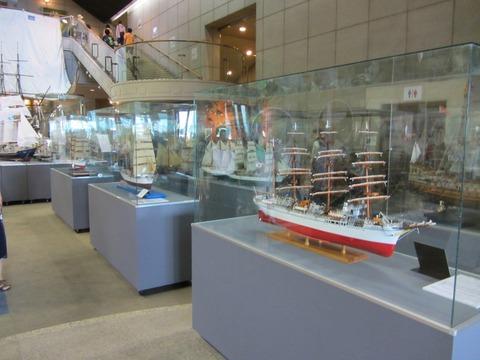 練習帆船模型展示