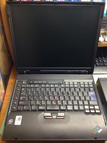 IBM ThinkPad A30