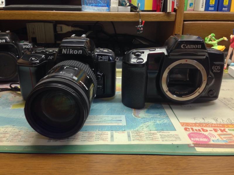 Nikon F-601QD & Canon EOS 10QD