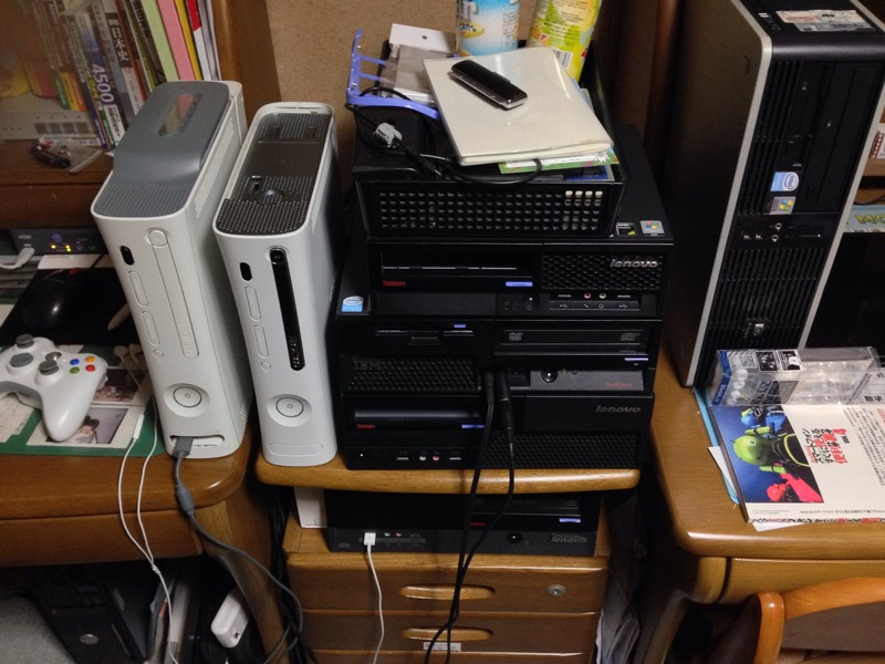 IBM ThinkCentreとXbox 360