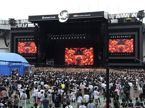 BABYMETAL 「SUMMER SONIC 2017」 東京の様子 SU-METAL「ついにここまで来ました」