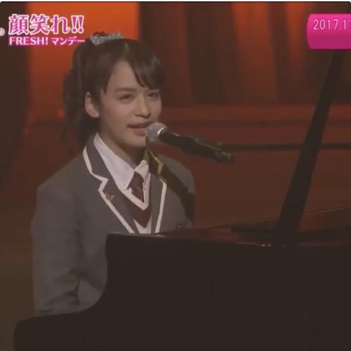 さくら学院祭にて山出愛子ちゃんがピアノ弾き語りで2曲披露