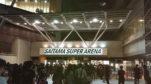 べビメタの巨大キツネ祭りSSA(さいたまスーパーアリーナ)直前