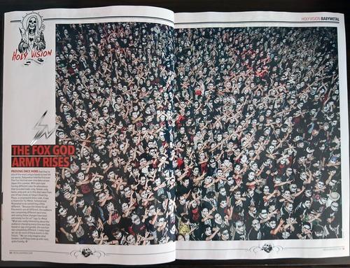 「Metal Hammer」にべビメタの記事