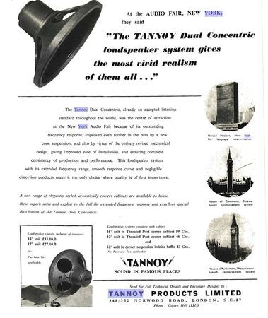 tannoy new york