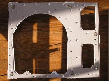 アクリル板と中箱