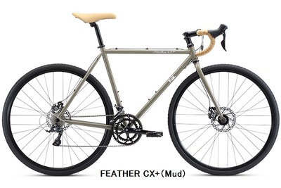 FEATHER CX+(Mud)