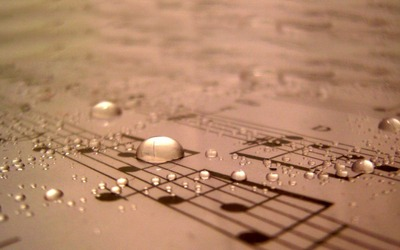 Water-Drops-On-Sheet-Music