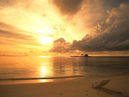 beach-sunset-sea-1