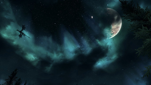 skyrim_dragon_night_sky_by_mallony-d4gveoq