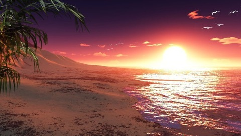 fantasy_island_sunset_by_conbagui-d31iywk
