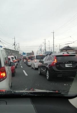 11/13の渋滞