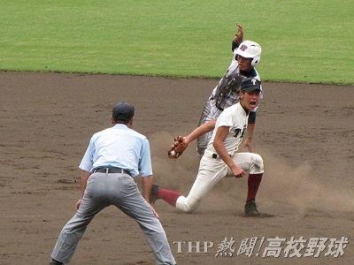 健大高崎・平山が大会通算最多盗塁タイ記録達成(2014.8.22)