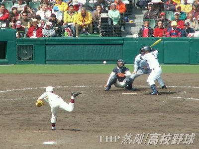 ベスト8をかけた熱戦!(テレビ中継アングル風)(2009.3.29)