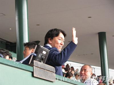 第100回記念大会の開幕試合で始球式を務める松井秀喜氏