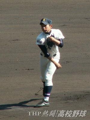 8回10奪三振で箕島打線を封じた清峰・今村(2009.3.30)