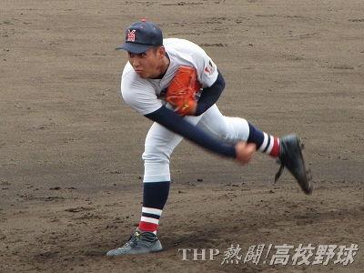 「BIG4」の一人、横浜・藤平は楽天が1位指名で交渉権獲得(2016.7.25)