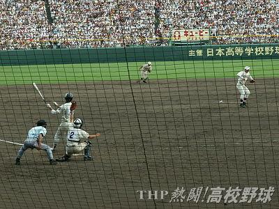 斎藤が田中を三振に抑え、24イニングの熱戦に決着!(2006.8.21)