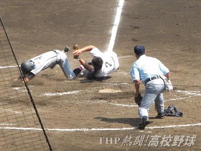好返球!常総・内田が体を張って先制点を阻止(2013.8.15)