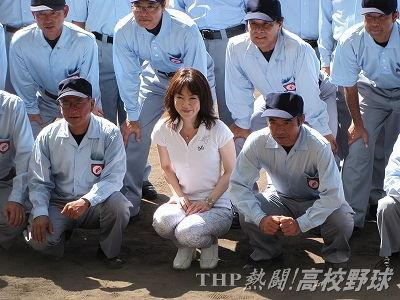 甲子園で始球式を務める長島三奈さん