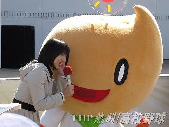 かつて甲子園で司会を務めた秋田放送の八重樫葵アナ(2011.10.1)