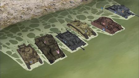ガールズ&パンツァー ガルパン 11話 感想 西住殿はやっぱり西住殿だった!マウス超重戦車とか圧倒的wwwww_画像_A012