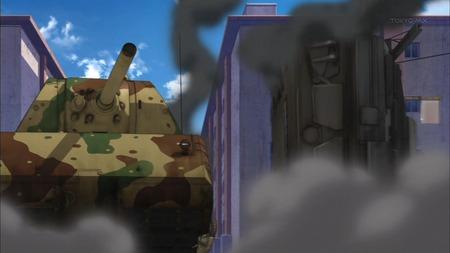 ガールズ&パンツァー ガルパン 11話 感想 西住殿はやっぱり西住殿だった!マウス超重戦車とか圧倒的wwwww_画像_002