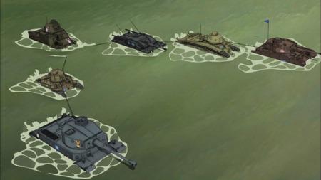 ガールズ&パンツァー ガルパン 11話 感想 西住殿はやっぱり西住殿だった!マウス超重戦車とか圧倒的wwwww_画像_031