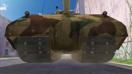 ガールズ&パンツァー ガルパン 11話 感想 西住殿はやっぱり西住殿だった!マウス超重戦車とか圧倒的wwwww_画像_A020