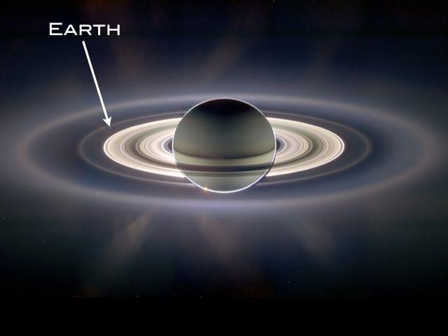 土星と地球のツーショット写真 土星デカすぎワロタwwwwwwwwwwwwwwwww_画像_002