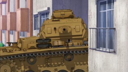 ガールズ&パンツァー ガルパン 11話 感想 西住殿はやっぱり西住殿だった!マウス超重戦車とか圧倒的wwwww_画像_029