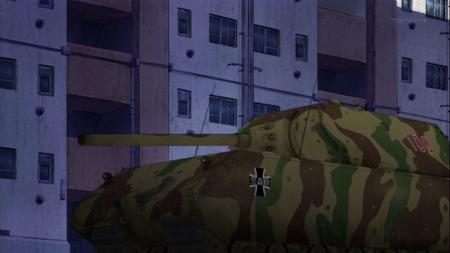 ガールズ&パンツァー ガルパン 11話 感想 西住殿はやっぱり西住殿だった!マウス超重戦車とか圧倒的wwwww_画像_000