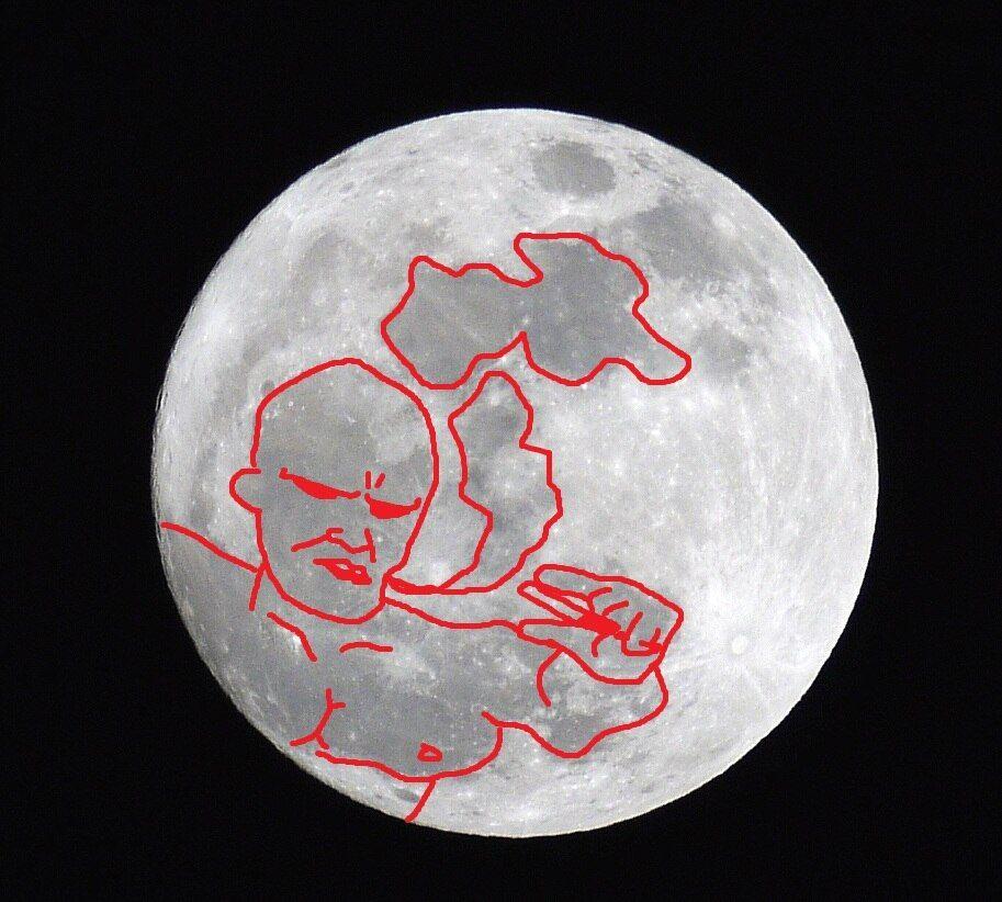 【画像】月がキレイ_画像_029