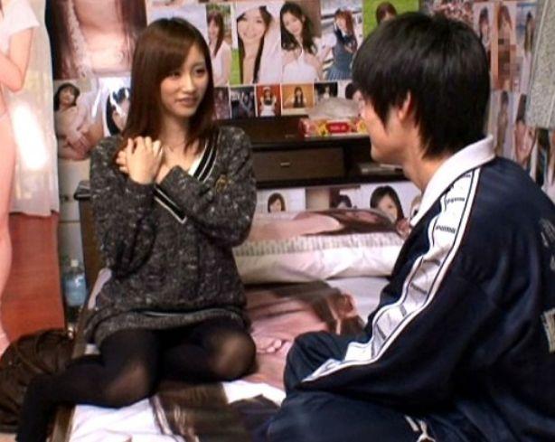 天然美少女'絵色千佳'ちゃんがファン様のお部屋に出張してその願望を叶えてしまいます!