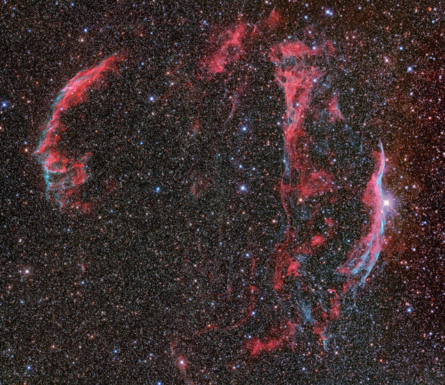 網状星雲-E