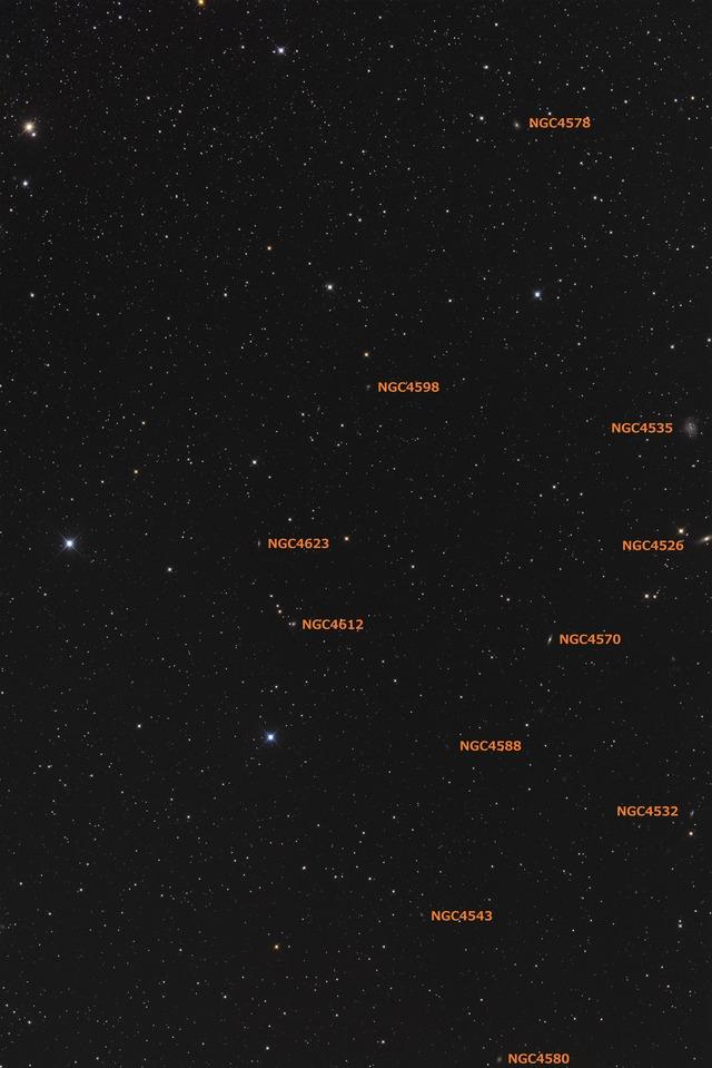 おとめ座 NGC4578付近-C1-1S-1P-1P-1P-1PH★